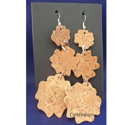 Earrings (LC-822 model 7) from the manufacturer Luisa Cork